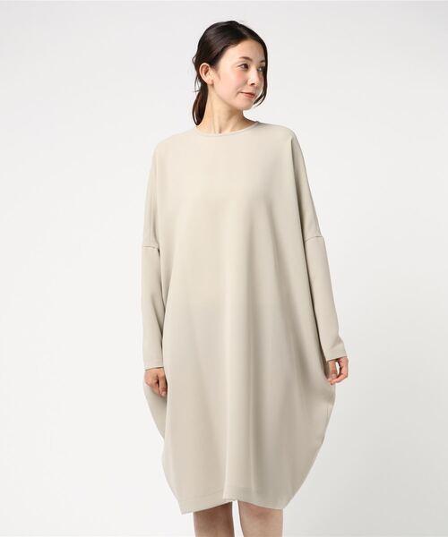 春先取りの クルーネックワイドワンピース(ワンピース)|mizuiroind(ミズイロインド)のファッション通販, make space:2c4e4467 --- skoda-tmn.ru