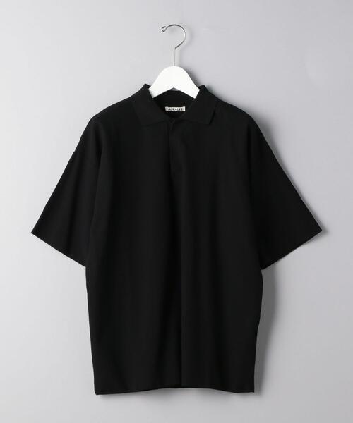 <AURALEE(オーラリー)> D/CLOTH ポロ■■■