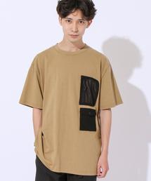 FreeSpeech(フリースピーチ)別注SHELTECH(R) (シェルテック)メッシュポケットTシャツ