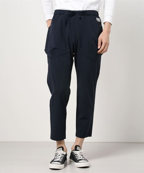 NUMBER (N)INE(ナンバーナイン)の「LIGHT WEIGHT STRETCH PATCH POCKET WIDE TAPERED EASY PANTS(その他パンツ)」 詳細画像