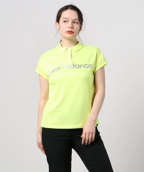 変形カノコ ツートーンダブルフェイス 半袖カラーシャツ (WOMENS SPORT)