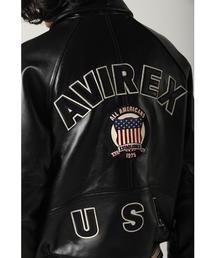 AVIREX(アヴィレックス)のavirex/アヴィレックス/メンズ/SIGNATURE VARSITY JACKET/シグネチャー バーシティー ジャケット(スタジャン)