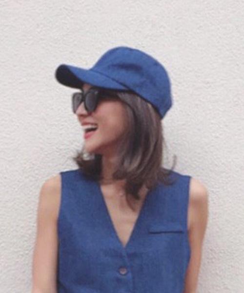 MODE ROBE(モードローブ)の「【cozueコラボ】デニムキャップ ゴブランキャップ 帽子(キャップ)」|その他1