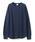BEAMS LIGHTS(ビームスライツ)の「JE MORGAN / ラグランサーマル プルオーバー(Tシャツ/カットソー)」|ネイビー