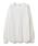 BEAMS LIGHTS(ビームスライツ)の「JE MORGAN / ラグランサーマル プルオーバー(Tシャツ/カットソー)」|ホワイト