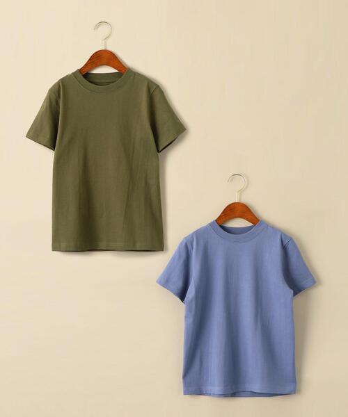 【ジュニア】〔別注〕Hanes(ヘインズ)BEEFY 2P Tシャツ