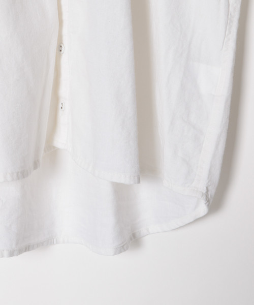 【ichi(イチ)】ギャザーシャツ