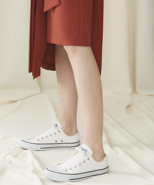 STUDIOUS(ステュディオス)の「【STUDIOUS】ドライポプリン アシンメトリープリーツスカート(スカート)」 詳細画像