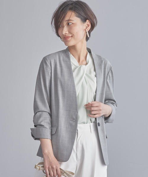 【WORK TRIP OUTFITS】D TW ノーラペル ジャケット