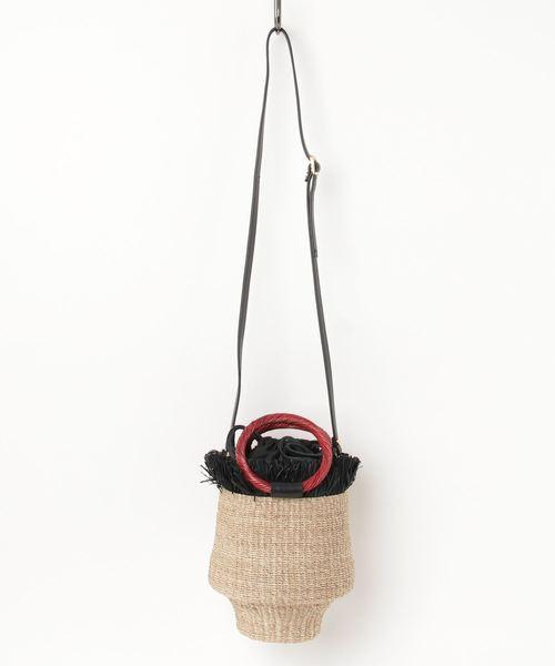 価格は安く 【セール ラクレ,ARANAZ vif】ARANAZ la 巾着つきバッグ(かごバッグ)|Rouge vif(ルージュヴィフ)のファッション通販, ニタグン:eea3e641 --- arguciaweb.com