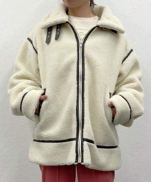 ボアフライトジャケット