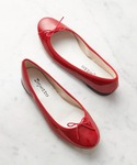 repetto | 【35-38】BALLERINA / CENDRILLON (PATENT / white, black, red)(バレエシューズ)