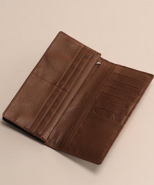 カイマンレザー長財布