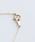 NOIR DE POUPEE(ノワールドプーペ)の「K10 レイヤー ゴールド ミル ひし形 ネックレス(ネックレス)」|詳細画像