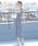 coen(コーエン)の「【Market】ウエストギャザーマキシワンピース�U (ストライプ・ギンガムチェック)(ワンピース)」|詳細画像