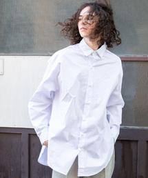 YARD PLUS(ヤードプリュス)のYARD PLUS スリットビックシャツ(シャツ/ブラウス)