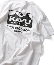 FREAK'S STORE(フリークスストア)の▽WEB限定 KAVU/カブー True ロゴ 半袖Tシャツ(Tシャツ/カットソー)