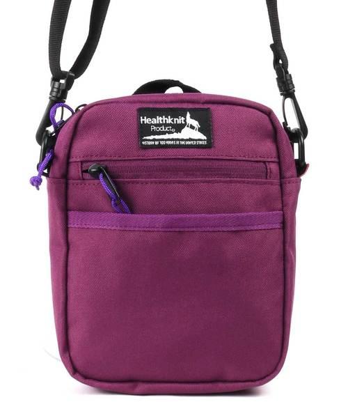 【Healthknit Product】縦型ミニショルダーバッグ