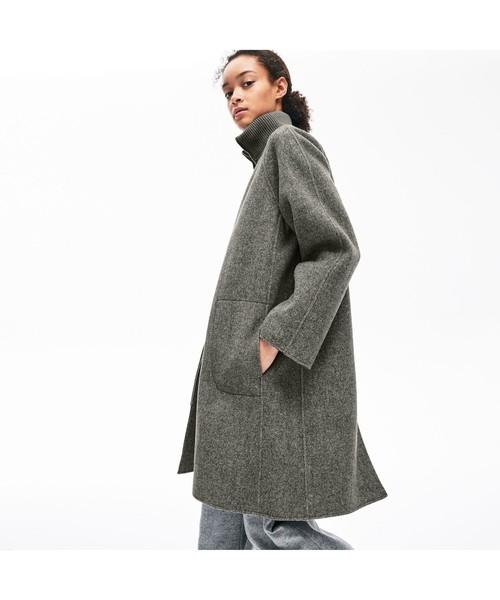 ふるさと納税 ヘビーウェイトメルトンコート(トレンチコート) LACOSTE(ラコステ)のファッション通販, 鳥取市:98b17208 --- skoda-tmn.ru