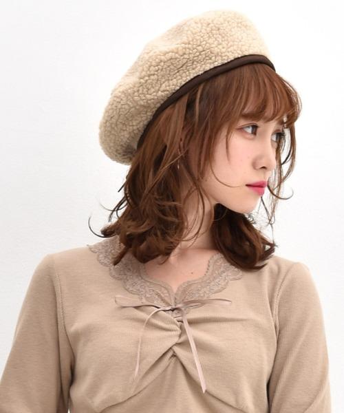 テディボアベレー帽
