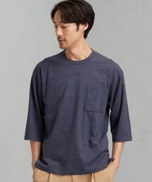 SC マルチメランジ クルー 7分袖 Tシャツ