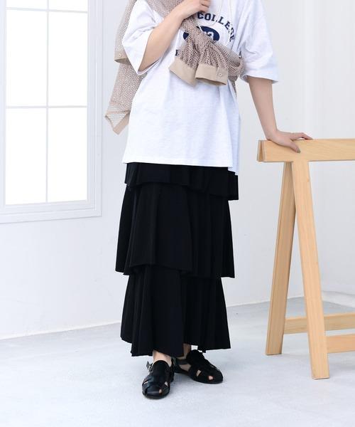 3 dan frill skirt