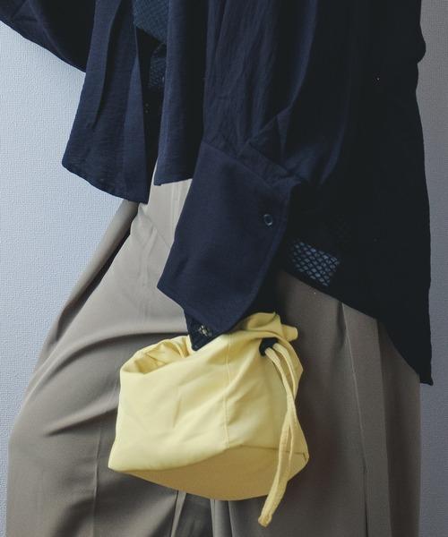 【chuclla】Gather handle mini bag cha21a002
