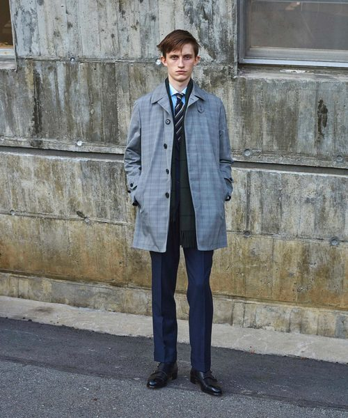 ○UADB ショートステンカラー コート