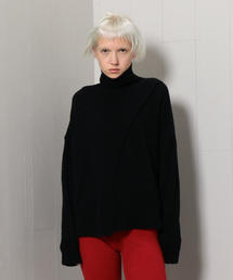 <Christian Wijnants>SLIT TURTLE NECK KNIT/ニット.