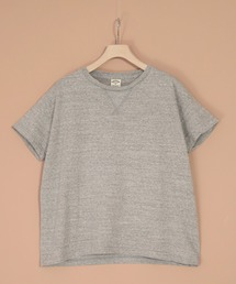 OMNIGOD(オムニゴッド)の[OMNIGOD / オムニゴッド] ラフィー天竺グレー杢マニッシュTシャツ(Tシャツ/カットソー)