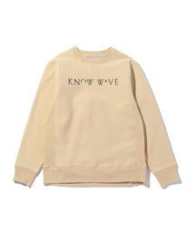 <Know Wave> MULTI CREW/スウェット
