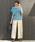 LEPSIM(レプシィム)の「リネンイージータックワイドパンツ 831984(その他パンツ)」|詳細画像