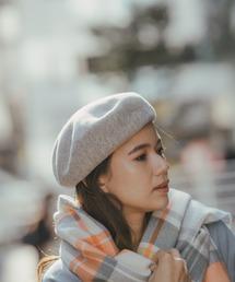 niko and...(ニコアンド)のオリジナルAWカラーベレー(ハンチング/ベレー帽)