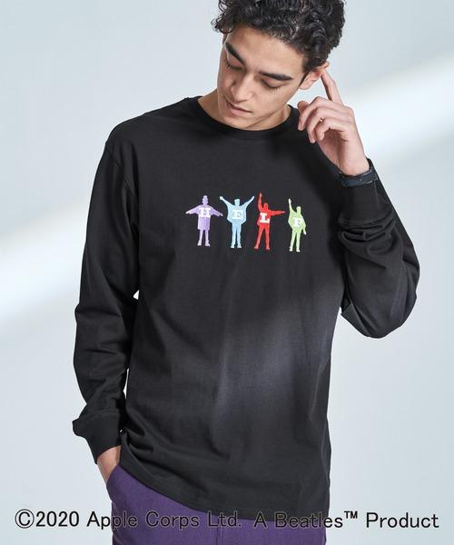 【別注】The BEATLES ビートルズ Abbey Road Long-Sleeve T-Shirts