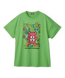 BEAR SOUL オーバーサイズTシャツグリーン