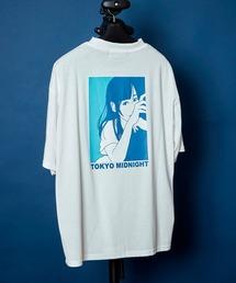 オーバーサイズ ルーズビッグシルエット ドロップショルダーTシャツ