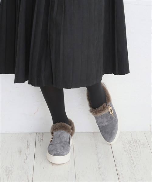 【NEW限定品】 【セール】本革ファー付きスニーカー(スニーカー) Noubel Voug Relax(ヌーベルヴォーグリラックス)のファッション通販, モトヨシグン:9bfd5e20 --- wm2018-infos.de