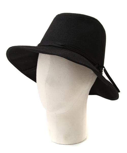 KIJIMA TAKAYUKI / キジマタカユキ:Felt narrow ribbon Hat:フェルトリボンハット:W-162860[ANN]