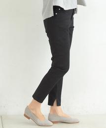 CIAOPANIC TYPY(チャオパニックティピー)の裾スリットデニムイージーパンツ(デニムパンツ)