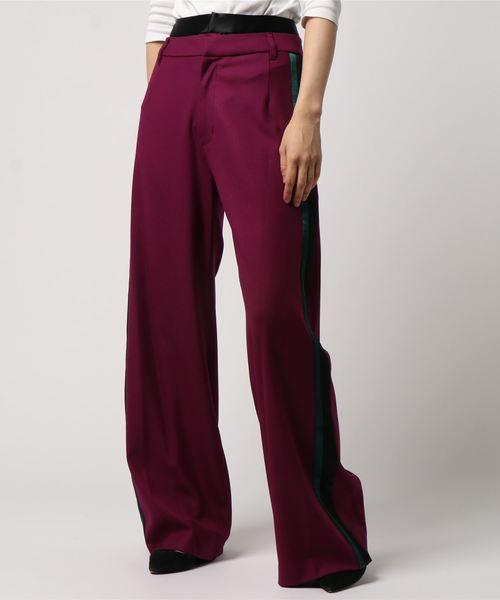 贅沢 【セール】【AULA】ダブルウエストパンツ(パンツ) AULA(アウラ)のファッション通販, イタコシ:8ea5f8fb --- fahrservice-fischer.de