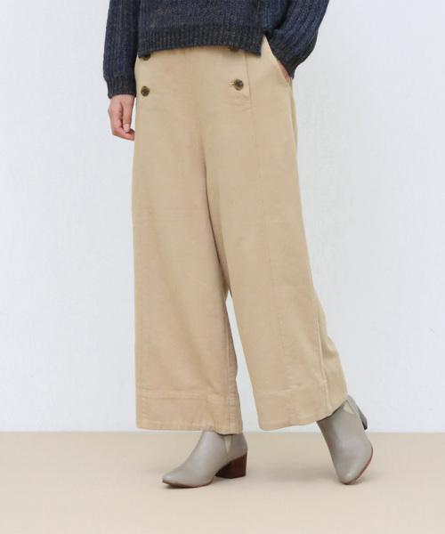 柔らかい ボタンデザインパンツ(パンツ) payes|conges payes ADIEU TRISTESSE(コンジェ ペイエ ADIEU conges アデュートリステス)のファッション通販, 羽曳野市:e6a15d59 --- steuergraefe.de