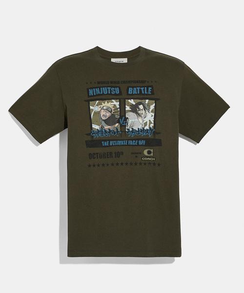 【同梱不可】 【コーチ】COACH X マイケル・B・ジョーダン X Tシャツ(Tシャツ/カットソー) COACH|COACH(コーチ)のファッション通販, 半纏 法被 祭り用品販売 作務衣屋:9b578911 --- 5613dcaibao.eu.org