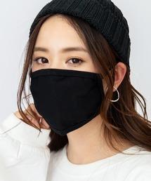 【即納】洗えるマスク 繰り返し洗える水着素材 速乾性夏用マスク<冷感>ブラック