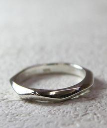 YArKA(ヤーカ)の【YArKA/ヤーカ】silver925 7surface ring [nanaes]/シルバー925 7面デザインリング(リング)