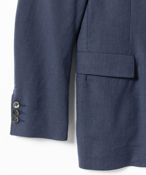 BEAMS / リネン ストレッチ 2ボタン ジャケット
