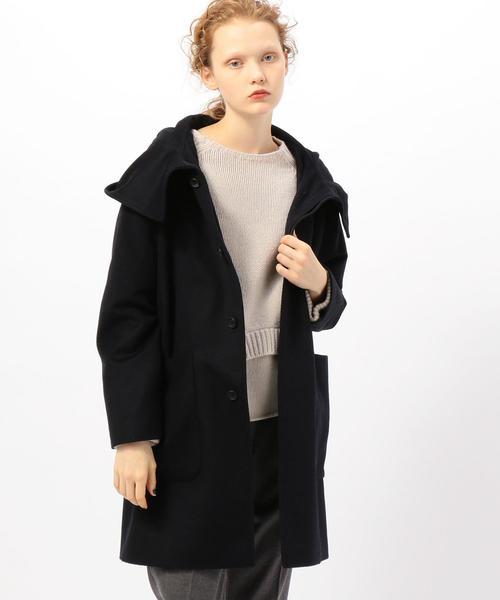 1着でも送料無料 ウールカシミヤビーバー フーテッドコート(その他アウター)|KNOTT(ノット)のファッション通販, キタガワチョウ:4a356603 --- svarogday.com