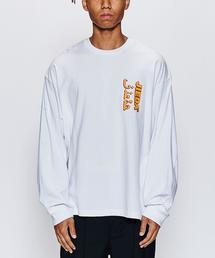 <JieDa> LOGO LS TEE/Tシャツ