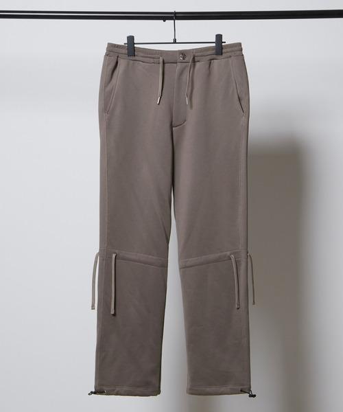 ドローコード クオリティーブライト裏毛スウェットテーパードパンツ/EMMA CLOTHES (セットアップ対応)