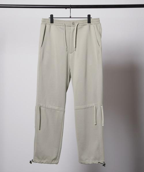 ドローコード クオリティーブライト裏毛スウェットテーパードパンツ/EMMA CLOTHES