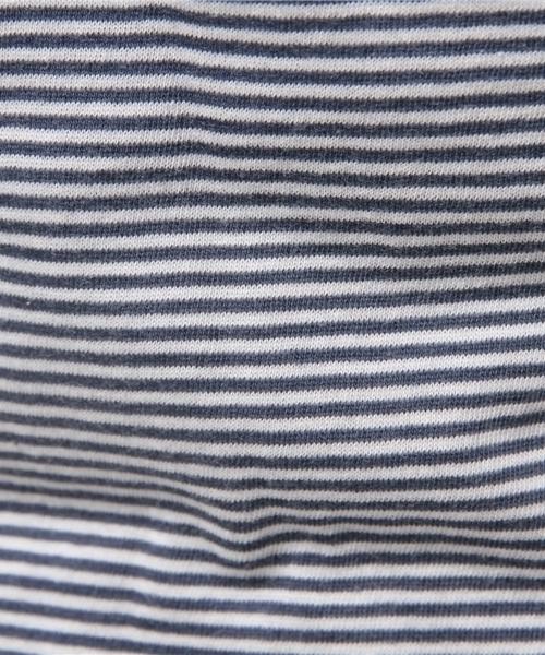 ALTERNATIVE APPAREL スキニーストライプクルーTシャツ